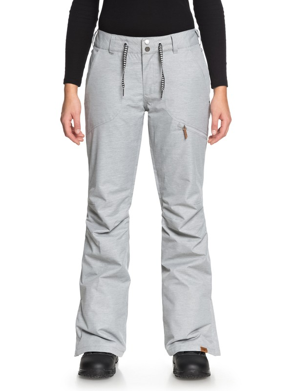 0 Nadia Snow Pants Grey ERJTP03062 Roxy