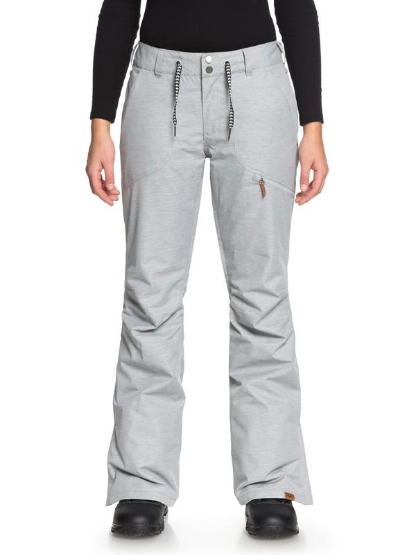 0 Nadia Snow Pants Grey ERJTP03062 Roxy