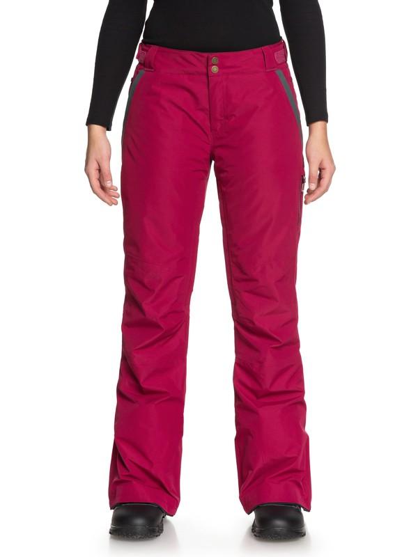 0 Rushmore 2L GORE-TEX® Snow Pants Red ERJTP03064 Roxy