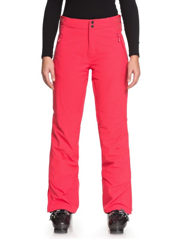 0 Montana - Snowboardbroek voor Dames Pink ERJTP03065 Roxy