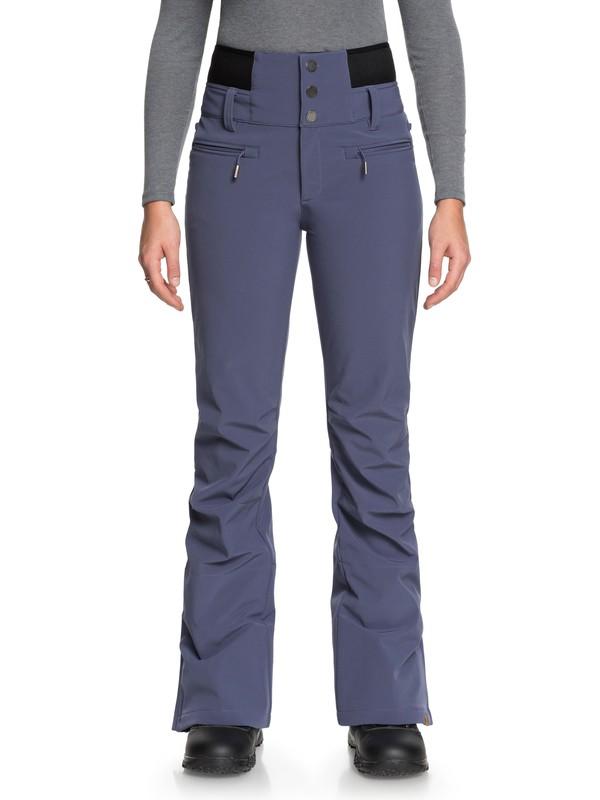 0 Rising High - Pantalón shell para nieve para Mujer Azul ERJTP03067 Roxy