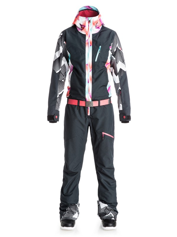 0 Pop Snow Impression - One-Piece Snow Suit  ERJTS03002 Roxy