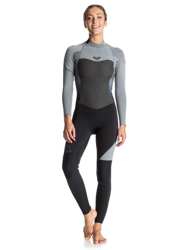 0 Syncro 5/4/3mm - Back Zip Full Wetsuit  ERJW103008 Roxy
