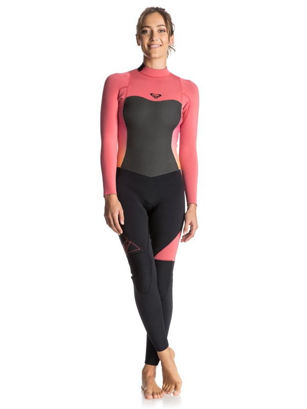 0 Syncro 4/3mm - Back Zip Full Wetsuit  ERJW103010 Roxy