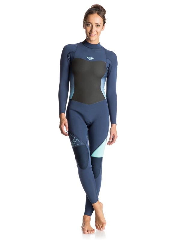 0 Syncro 3/2mm Back Zip Full Wetsuit  ERJW103012 Roxy