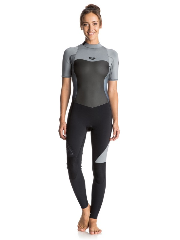 0 Syncro 2/2mm Back Zip Short Sleeve Full Wetsuit  ERJW103013 Roxy