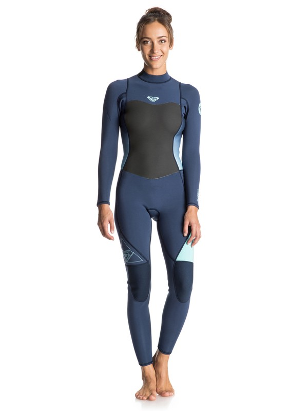 0 Syncro 3/2mm Back Zip Full Wetsuit  ERJW103014 Roxy