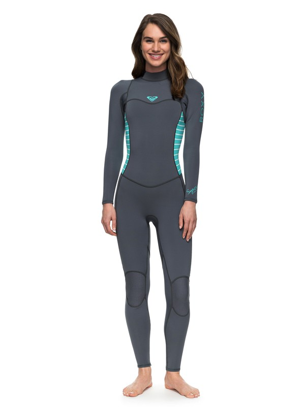 0 3/2mm Syncro Series Back Zip Wetsuit Blue ERJW103023 Roxy