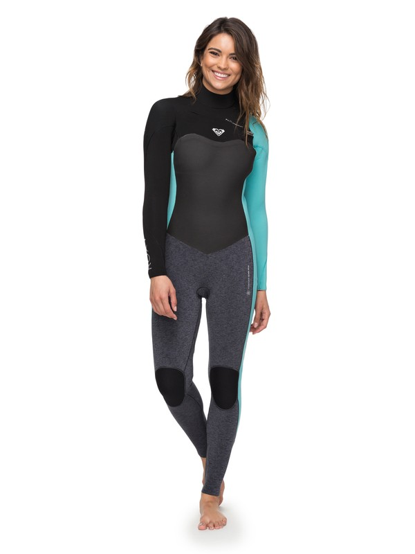 0 3/2mm Performance  Chest Zip Wetsuit Blue ERJW103031 Roxy