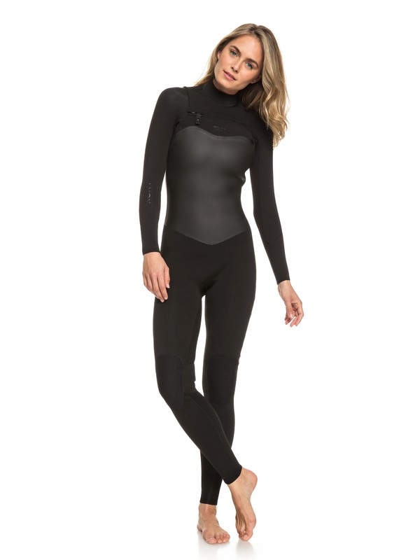 0 3/2mm Satin Chest Zip Wetsuit Black ERJW103037 Roxy