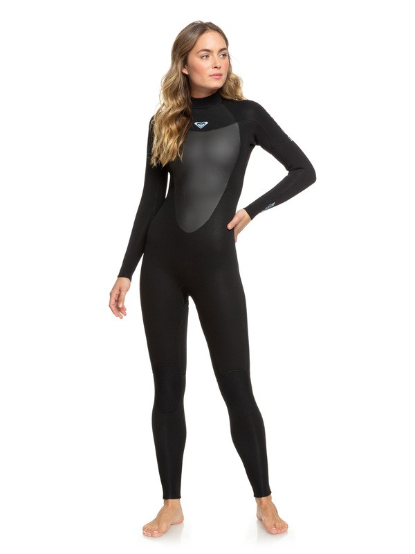0 3/2mm Prologue Back Zip Wetsuit Black ERJW103040 Roxy