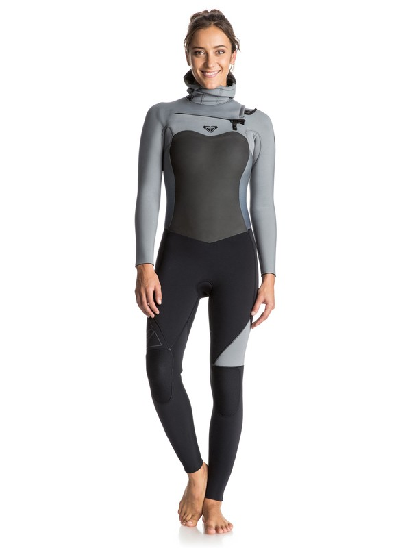 0 Syncro 5/4/3mm Chest Zip Hooded Wetsuit  ERJW203001 Roxy