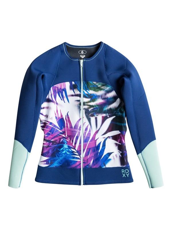 0 Caribbean Sunset Wetsuit Jacket  ERJW803000 Roxy