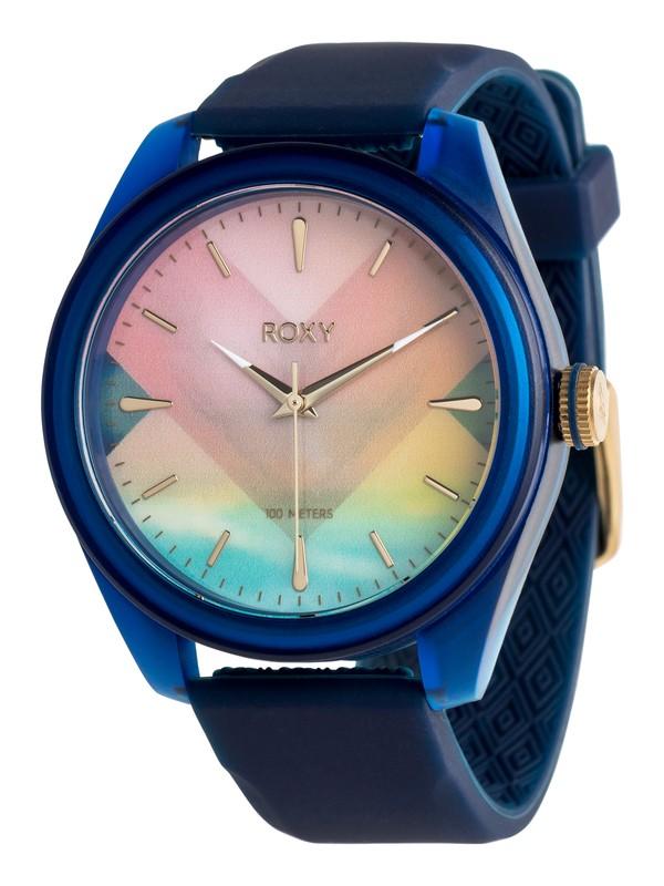 0 Popadopalis - Analoge Uhr für Frauen Blau ERJWA03007 Roxy