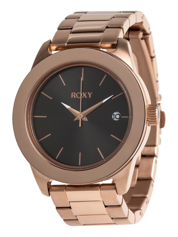 0 Kai Metal - Analoge Uhr für Frauen Rosa ERJWA03008 Roxy