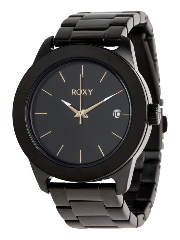 0 Kai Metal - Analoge Uhr für Frauen Gelb ERJWA03008 Roxy