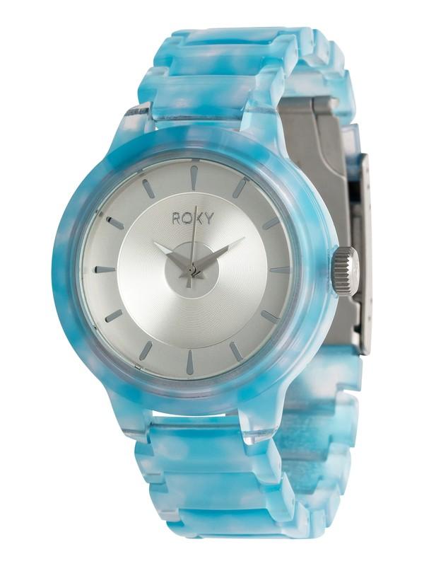 0 Baroness - Analoge Uhr für Frauen Blau ERJWA03014 Roxy