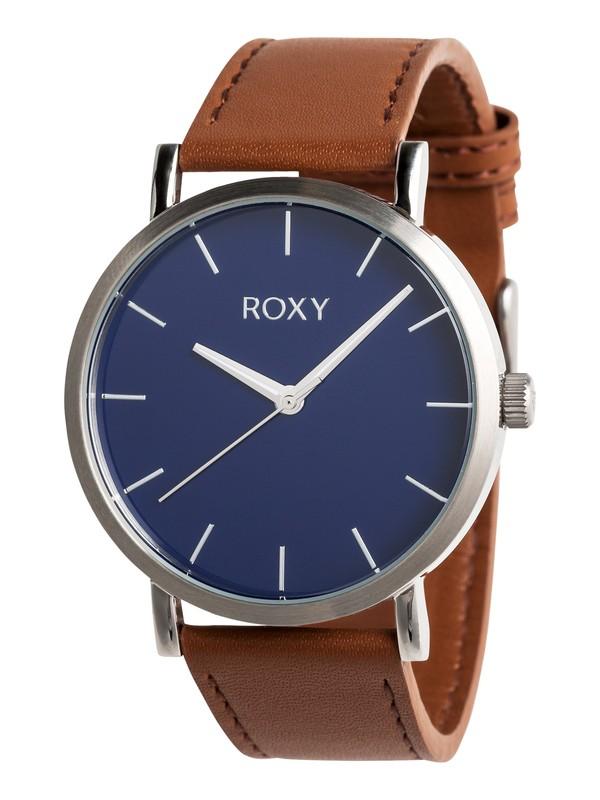 0 Maya - Analoge Uhr für Frauen Blau ERJWA03017 Roxy
