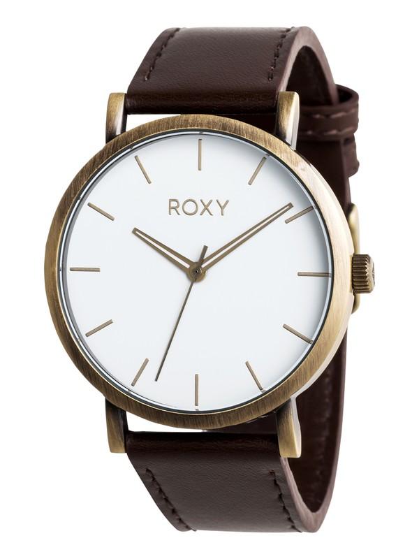 0 Maya - Analoge Uhr für Frauen Braun ERJWA03017 Roxy