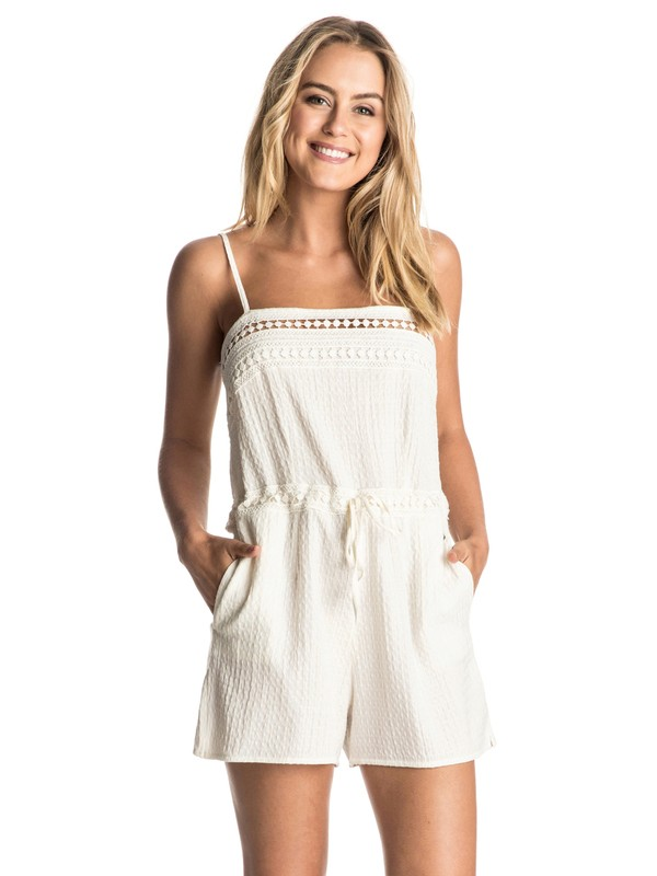 0 Sea Foam Romper  ERJWD03088 Roxy