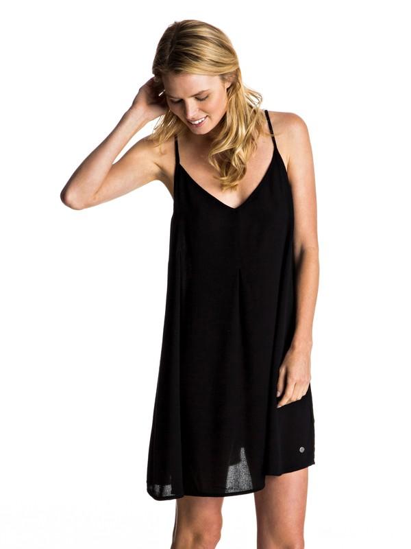 0 Swing Dress Black ERJWD03128 Roxy