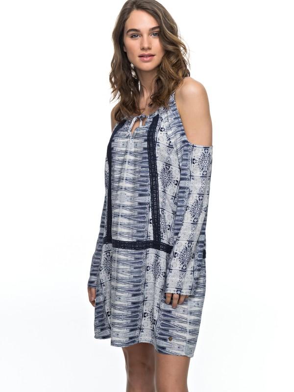 0 Live Loudly Cold Shoulder Dress  ERJWD03156 Roxy