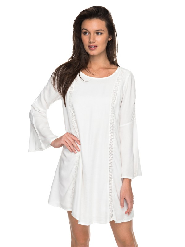 0 East Coast Dreamer Bell Sleeve Dress  ERJWD03176 Roxy