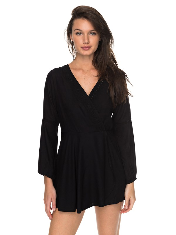 0 Twilight Adventure Long Sleeve Romper  ERJWD03178 Roxy