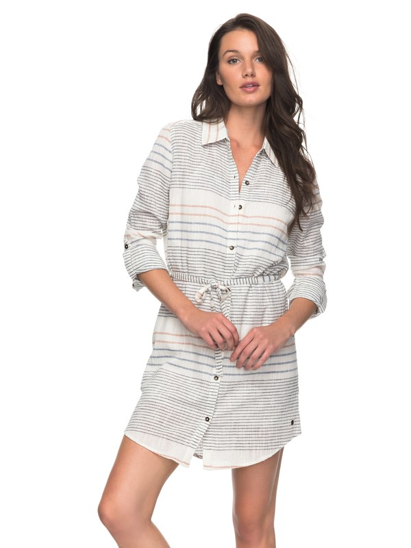 0 The Bravest Beginnings Shirt Dress  ERJWD03207 Roxy