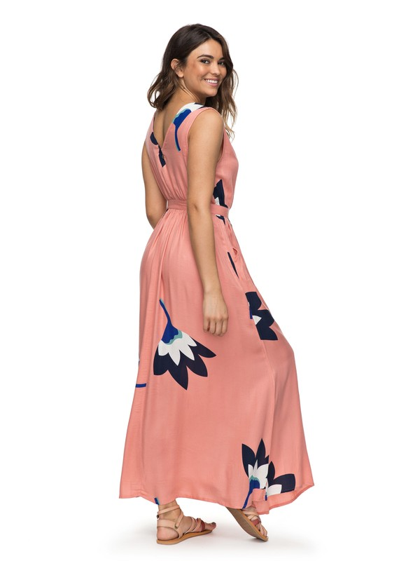 0 Apache Nature Maxi Dress Pink ERJWD03230 Roxy