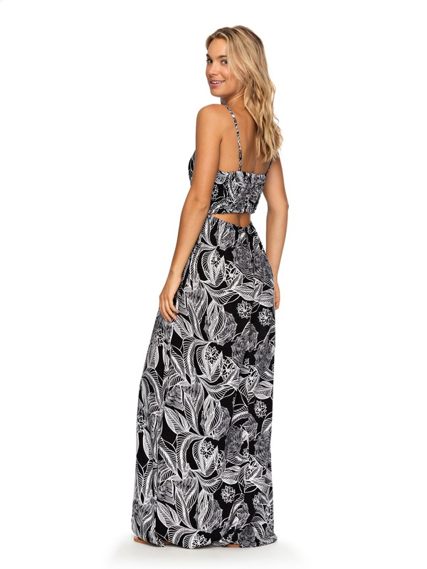 0 Brilliant Stars Maxi Dress Black ERJWD03235 Roxy