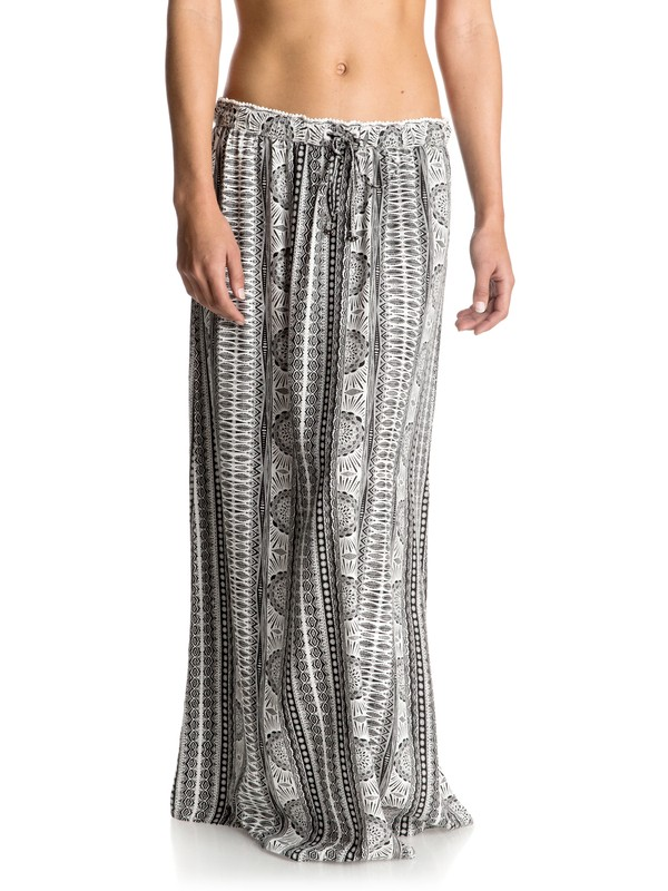 0 Solid Air Maxi Skirt  ERJWK03025 Roxy