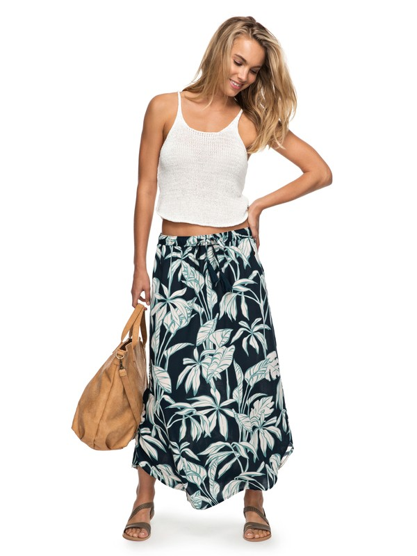 0 Land Of Beauty Maxi Skirt  ERJWK03030 Roxy