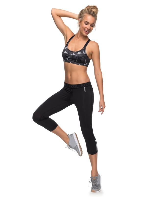 0 Stay On - Pantalones pirata de diseño técnico para running para Mujer  ERJWP03011 Roxy