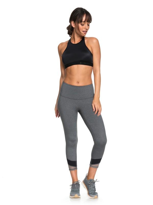 0 Mad About You - Yoga Capri-Leggings für Frauen Schwarz ERJWP03019 Roxy