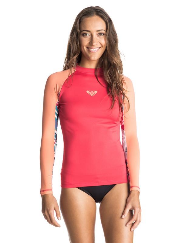 0 XY Long Sleeve Rashguard Pink ERJWR03028 Roxy