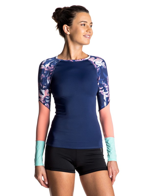 0 Keep It ROXY Long Sleeve Rashguard  ERJWR03119 Roxy