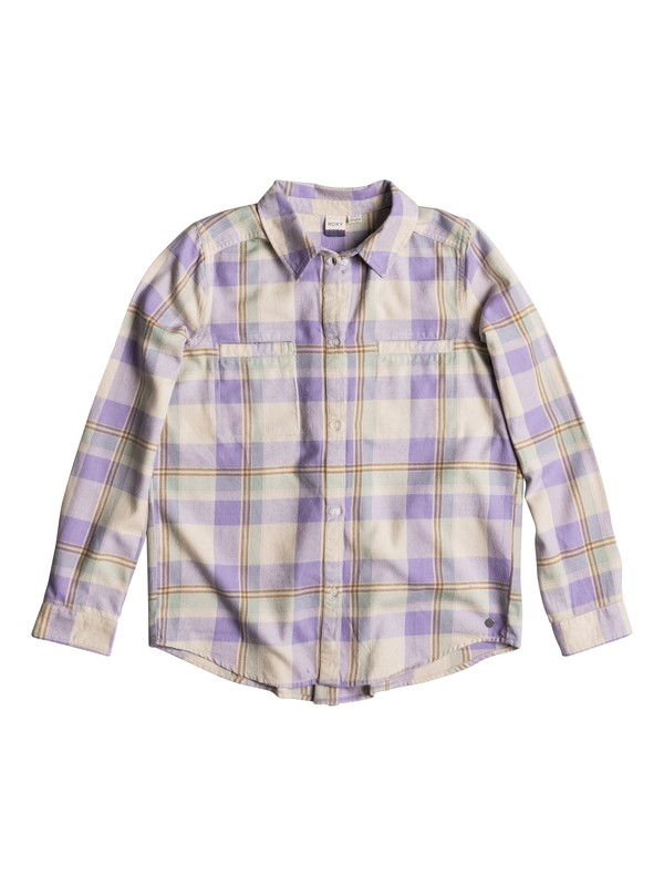 0 Campay Long Sleeve Flannel Shirt  ERJWT03063 Roxy