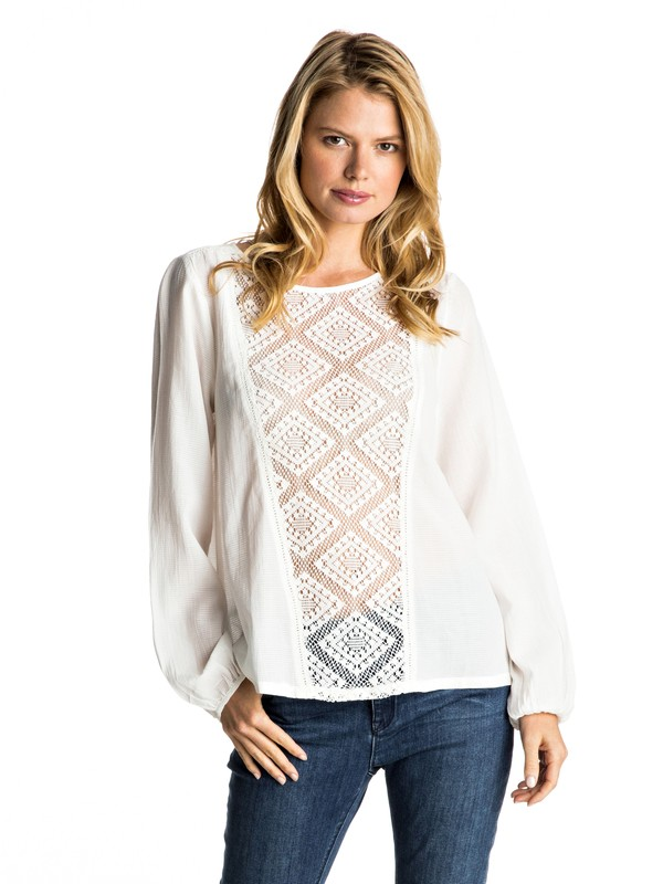0 Definitely Need It - Long Sleeve Top  ERJWT03134 Roxy