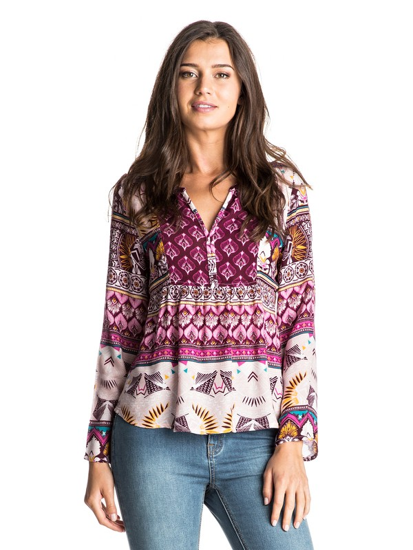 0 HAVANA TOP PRINTED  ERJWT03137 Roxy