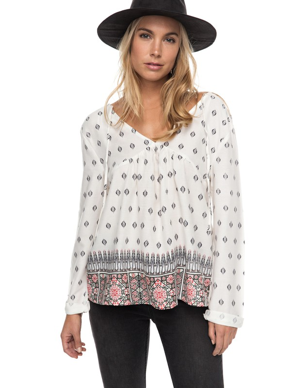 0 A Sky Full Of Stars Long Sleeve Top  ERJWT03144 Roxy