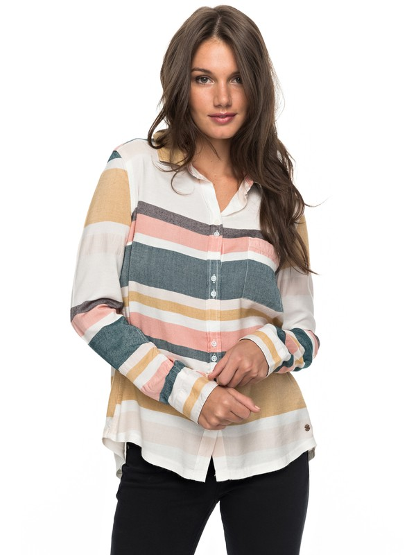 0 Heavy Feelings Long Sleeve Shirt  ERJWT03163 Roxy