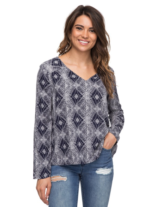 0 A Sky Full Of Stars Long Sleeve Top  ERJWT03175 Roxy