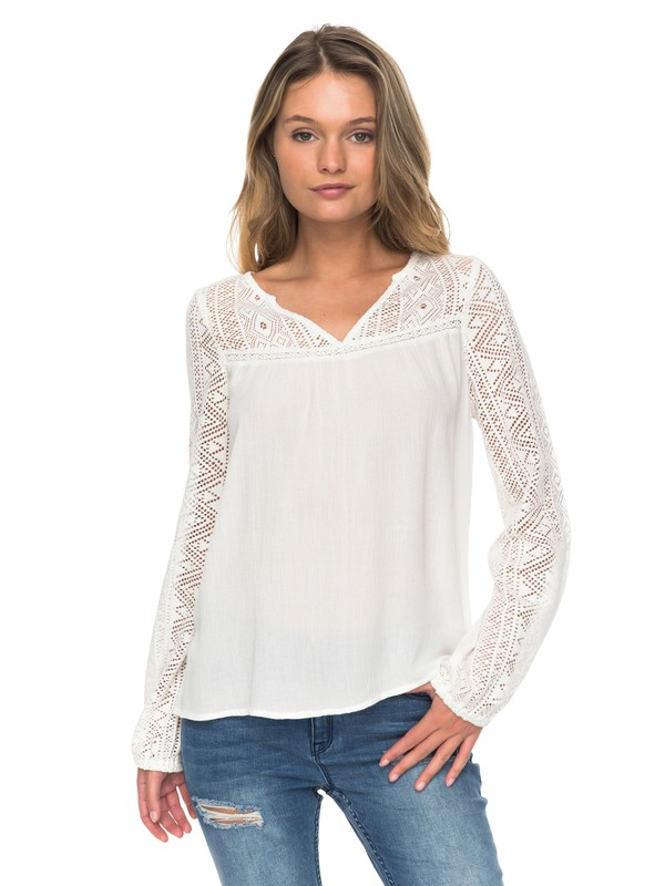 0 Island Dreaming Long Sleeve Top  ERJWT03183 Roxy