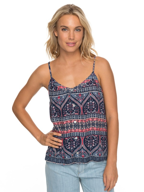 0 Fantasy Earth Cami Blue ERJWT03194 Roxy