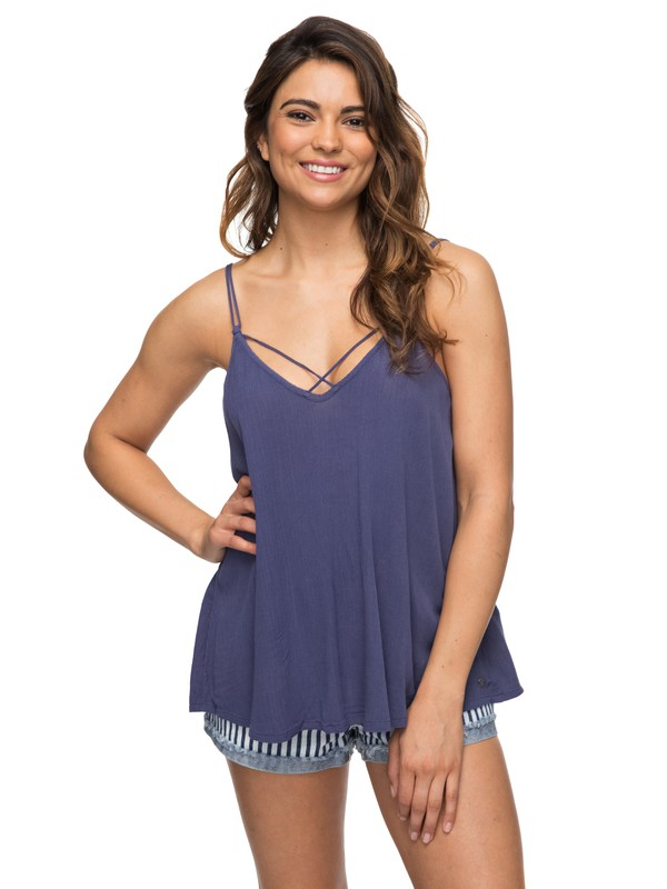 0 Final Days Strappy Top Blue ERJWT03209 Roxy