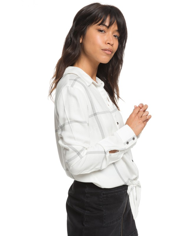 0 Suburb Vibes Long Sleeve Shirt  ERJWT03234 Roxy
