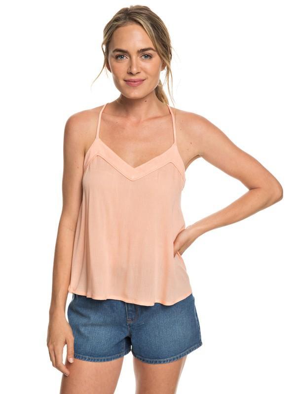 0 Off We Go Cami Top Pink ERJWT03283 Roxy