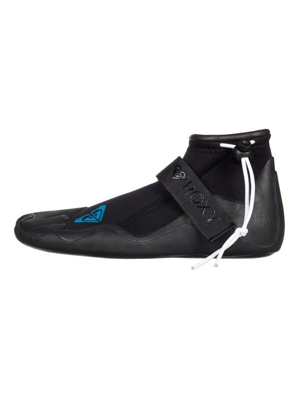 0 2mm Syncro Round Toe Reef Surf Boots Black ERJWW03002 Roxy