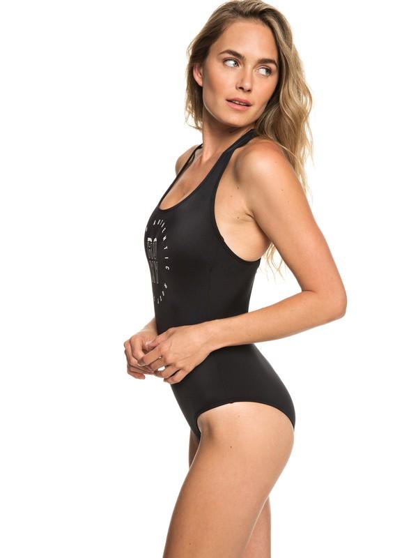 0 ROXY Fitness - Maillot de bain une pièce pour Femme Noir ERJX103168 Roxy